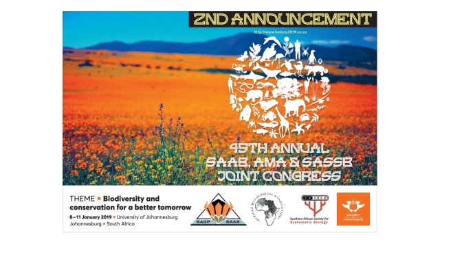 JOINT CONGRESS OF THE 45th ANNUAL SAAB, AMA AND SASSB – 2nd announcement